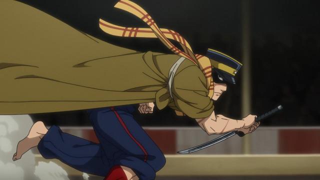 Tsugimoto esquiva golden kamuy season 3